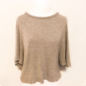 MARC by MARC JACOBS Open Back Cropped Top